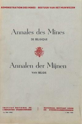 voorpagina 1950-03  Annales des Mines de Belgique.jpg