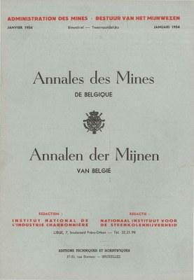 voorpagina 1954 01  Annales des Mines de Belgique.jpg
