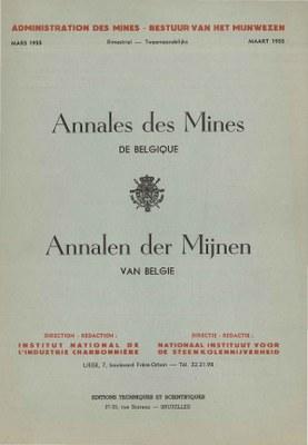 voorpagina 1955 02  Annales des Mines de Belgique.jpg