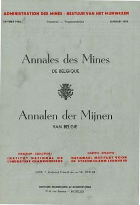 voorpagina 1956 01  Annales des Mines de Belgique.jpg