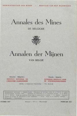 voorpagina 1957_02 Annales des Mines de Belgique.jpg