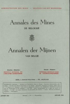 voorpagina 1964_01 Annales des mines de Belgique.jpg