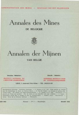 voorpagina 1965 03  Annales des Mines de Belgique.jpg