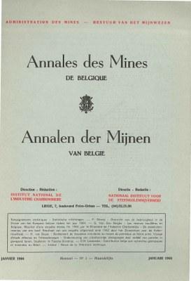 voorpagina 1966_01 Annales des mines de Belgique.jpg