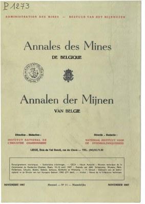 voorpagina 1967_11 Annales des Mines de Belgique.jpg