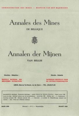 voorpagina 1969 03 Annales des mines de Belgique