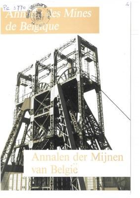 voorpagina 1988 2 Annales des mines de Belgique