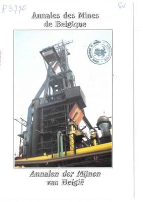 voorpagina 1993 1 Annales des mines de Belgique