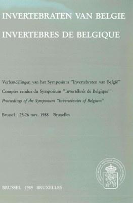 Wouters-1989-Proceedings of the Symposium Invertebrates of Belgium-cover.jpg